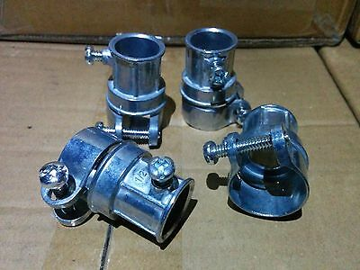 "50 pc lot Steel EMT Set Screw Type Couplings 1//2/"" Conduit Fittings"