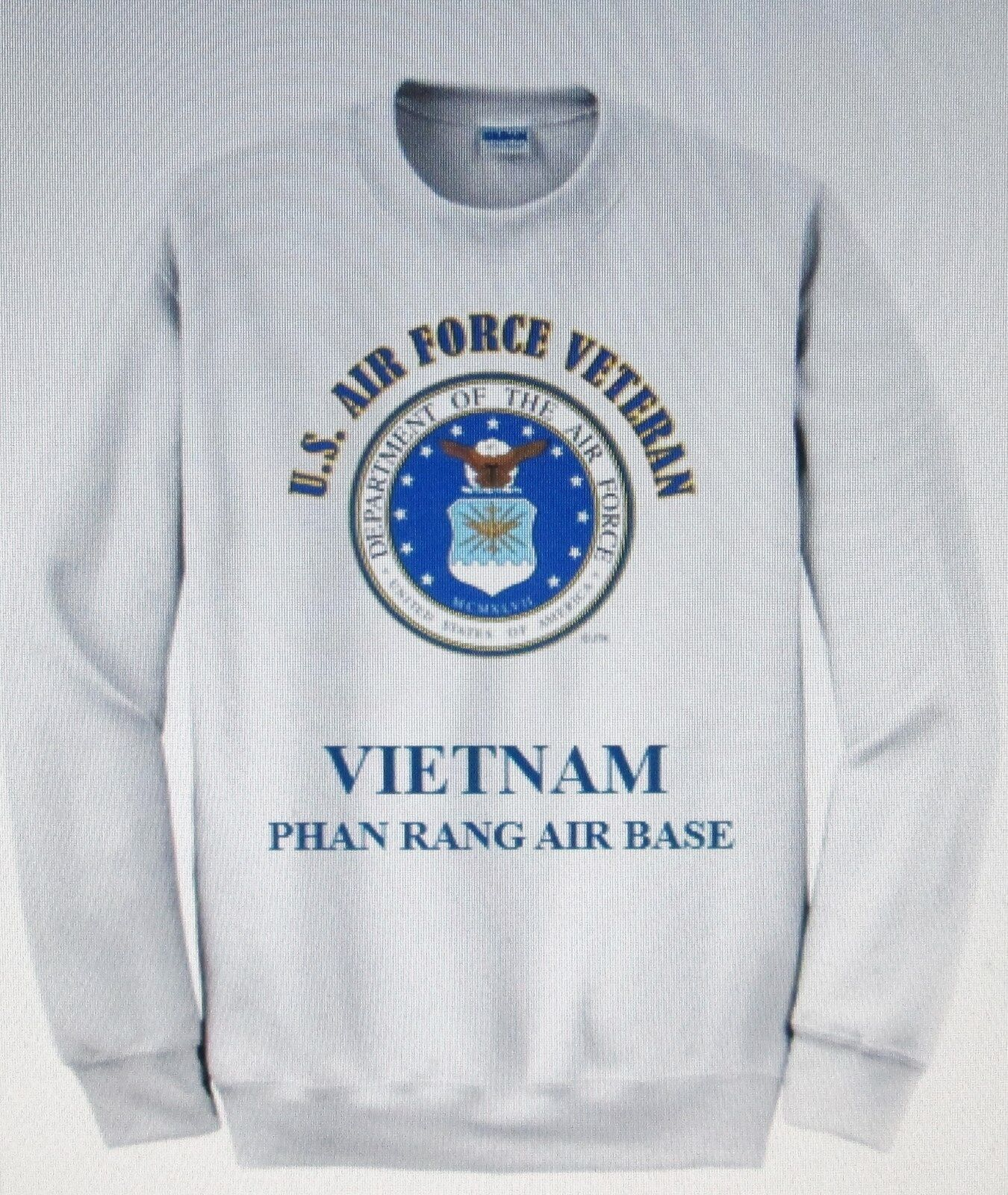VIETNAM  PHAN RANG AIR BASE U.S. AIR FORCE EMBLEM SWEATHemd