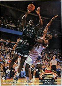 1992-92-93-Stadium-Club-Member-039-s-Choice-Shaquille-O-039-Neal-Rookie-RC-201-Shaq-HOF