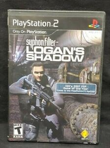 Syphon Filter: Logan's Shadow PS2 Playstation 2 COMPLETE Game 1 Owner Mint Disc