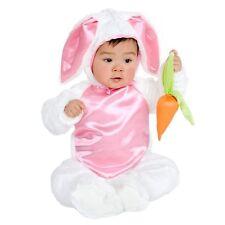 PLUSH BUNNY COSTUME Infant 6-18M Baby Girls Cute Charades Photo Halloween NEW
