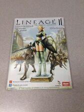 Lineage II 3D Paper Figure Papercraft Elf Warrior  NEW