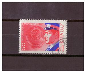 Sowjetunion-50-Jahre-Sowjetmiliz-MiNr-3402-1967-used