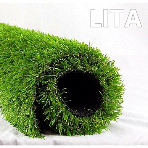 Lita Realistic Indooroutdoor Artificial Grass 7 Ft X 13 Ft For Sale Online Ebay