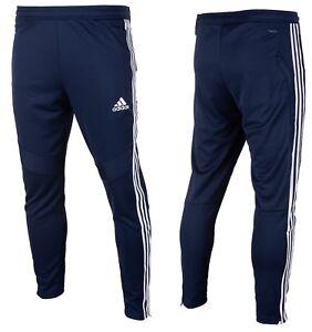4bc218be Image is loading Adidas-Dark-Blue-White-Tiro-19-Training-Pants