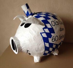 Sparschwein-XXL-Schwein-Oktober-Fest-Spendensau-Dirndl-Geldgeschenk-Briefbox