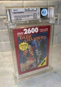 Atari 2600 Dark Chambers WATA Graded 9.0 A+ 1988 Factory Sealed LRB Seam Red Box
