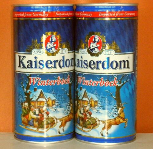 Germany KAISERDOM WINTERBOCK 2017-1L Empty beer steel can