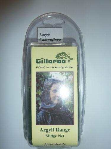 Gillaroo camouflage Midge net complètement Midge preuve new in box