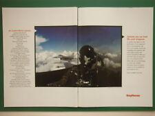 2/2000 PUB RAYTHEON AIR COMBAT MISSION SYSTEMS USAF F-16 PILOT ORIGINAL AD
