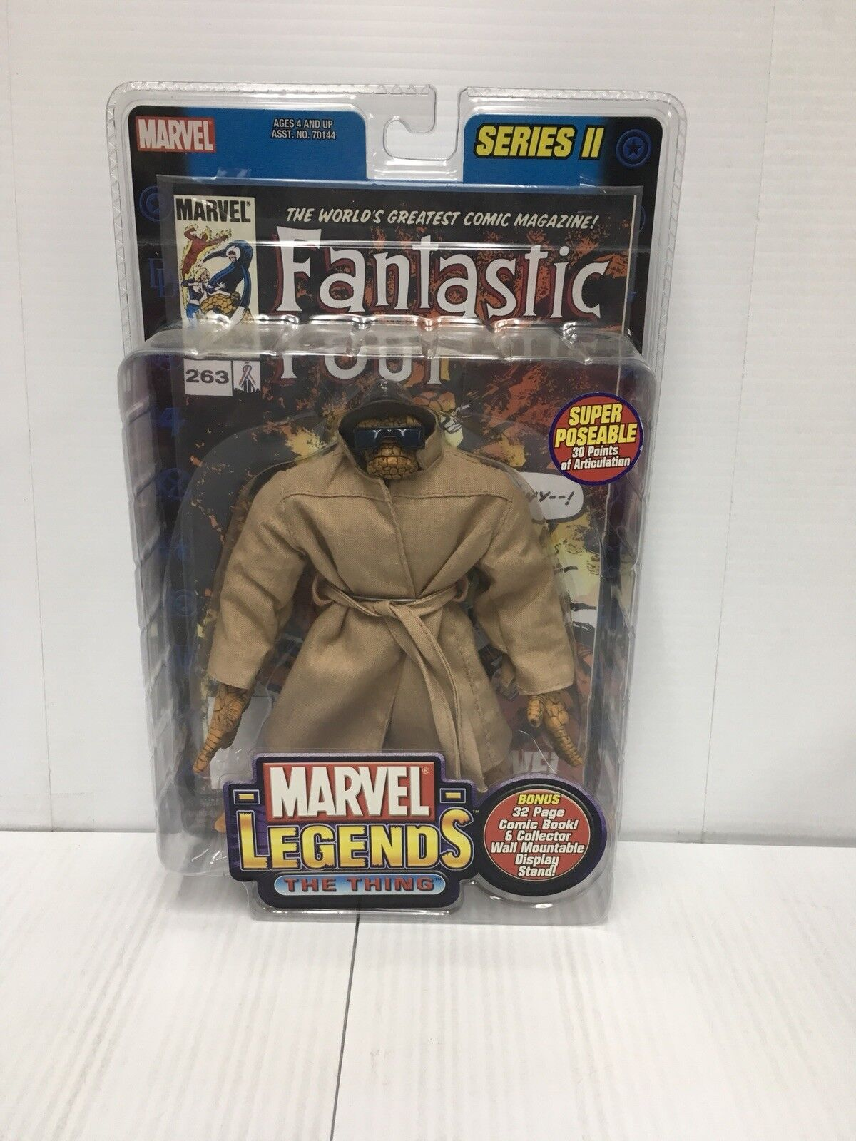 Marvel legends series 2 die sache rauledermantel variante toybiz