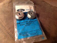 1984 1990 FORD ECONOLINE SPINDLE PIN CAPS PAIR NEW OEM