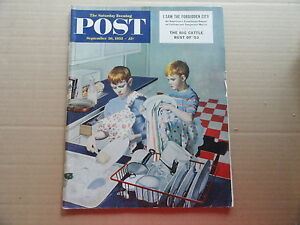 Saturday-Evening-Post-Magazine-September-26-1953-Complete