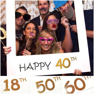 18-30-40-50-60th-Happy-Birthday-Party-Paper-Frame-Anniversary-Photo-Booth-Props
