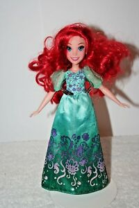 Disney Princess Little Mermaid Royal Shimmer Ariel Doll 12