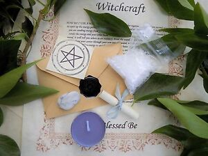 Revenge-Spell-Kit-Votive-Candle-Magic-Wicca-Created-by-a-Witch-Karmic-Return