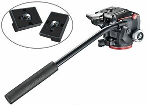 Manfrotto-MHXPRO-2W-XPRO-Fluid-Head-with-Selector-Two-Qr-Plates-for-RC2