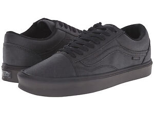 d9d2d00ef4fa6 Vans OLD SKOOL LITE Mens Skate Shoes (NEW) UltraCush LXVI Black ...