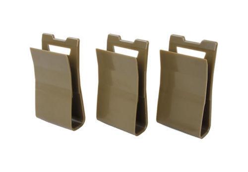 Black 3Pcs TMC Hunting Tactical Vest Nylon Mag Pouch Insert Set TMC2497-CB