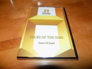 TALES-OF-THE-GUN-The-Guns-of-Israel-History-Channel-UZI-GALIL-RARE-OOP-DVD-NEW