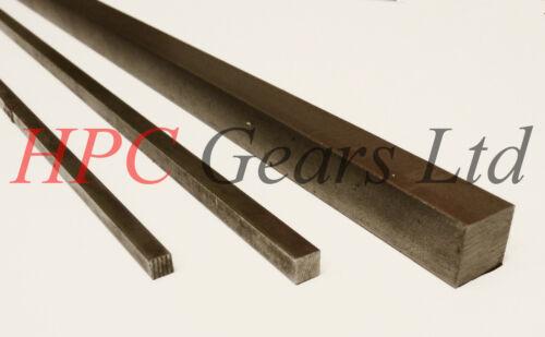 """Key Steel Square Bar Keyway 3//4/"""" x 300mm BS4235 19mm 3//4x3//4 HPC Gears"""