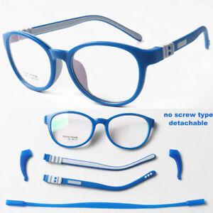 c987bf4c5a5 Child s Children Girl Boy Silicone Flexible Eyeglasses Frames Myopia ...