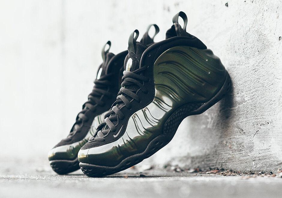 2017 Nike Air Foamposite One Legion Green Black Size 8.5. 314996-301.