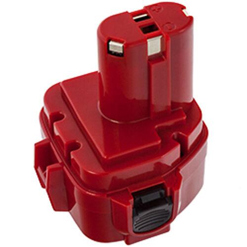 Akku Batterie für Makita 1220 1222 1233 1234 1235 - 3000mAh - Ni-MH - 12V