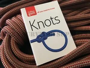 KNOTS-GUIDE-New-Collins-Gem-Rope-Tying-Bushcraft-Survival-Pocket-Book-Scouts