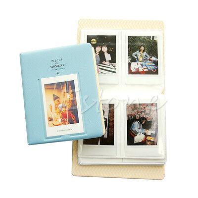 Pockets Album Photo Case For Fujifilm Instax Mini8 7s 25 50s 90 Storage 64 Blue