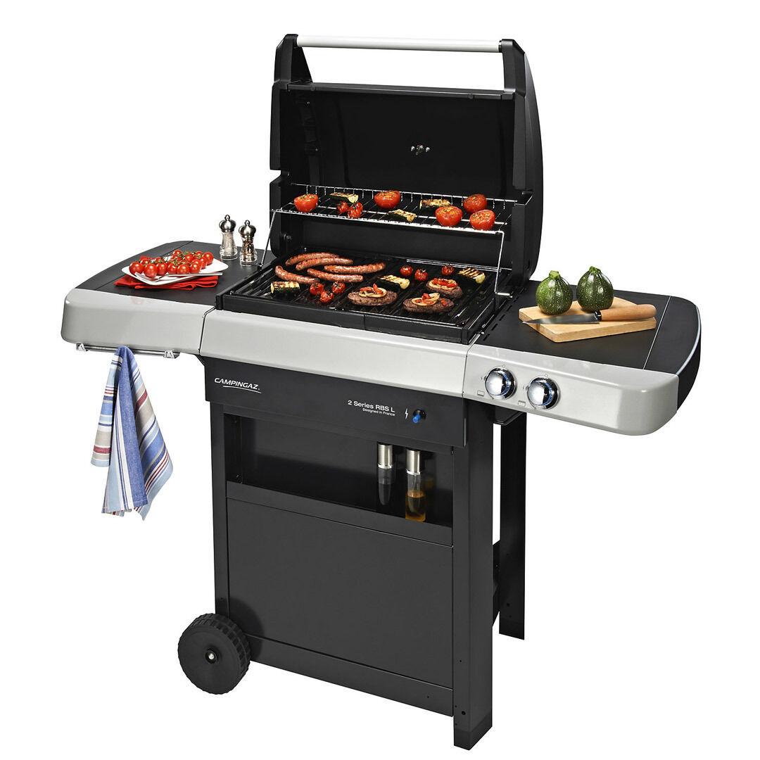 Barbecue a gas in acciaio smaltato modello  2 Series RBS L  marca CAMPINGAZ