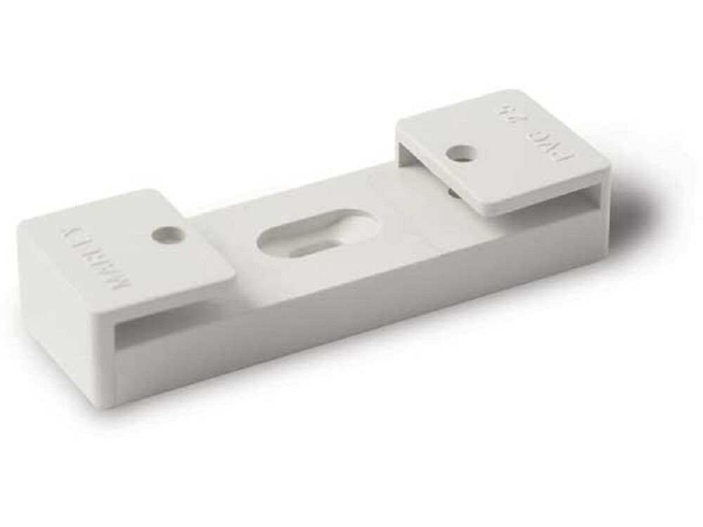 2x Marley PVC CONDUIT FITTINGS SADDLE SPACERS, GREY - 20mm Or 25mm