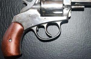 American Bulldog Pistol Grips Antique Copper Plastic With Screw Ebay