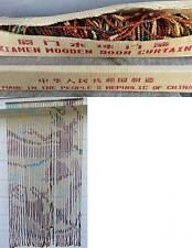 NEW ORIGINAL XIAMEN WOODEN DOOR BEAD CURTAIN - made in peoples republic of china