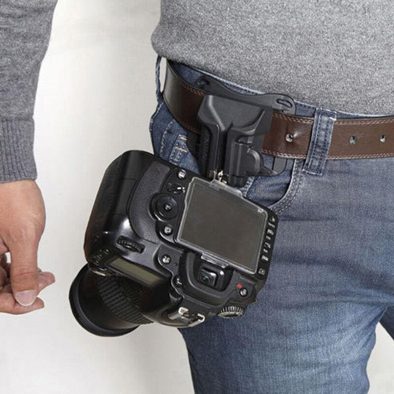Waist Belt Buckle for Camera Mount DSLR Clip Loading Fast Holster Hanger Holder 8