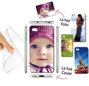 NEW CUSTODIA COVER MORBIDA GEL TPU FOTO PERSONALIZZATA SMARTPHONE Iphone 7 APPLE