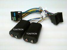 4 Cinch VW Golf 7 Quadlockkabelsatz 1:1 High Low Adapter original Radio Remote