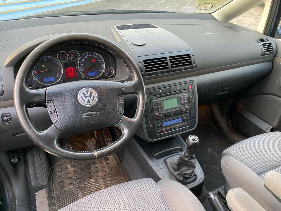 VW Sharan 1,9 TDi 115 Comfortline Diesel modelår 2005 km