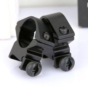 2pcs-Pack-1-034-25-4mm-Ring-Mounts-Flashlight-Scope-Mount-for-20mm-Rail-Mount