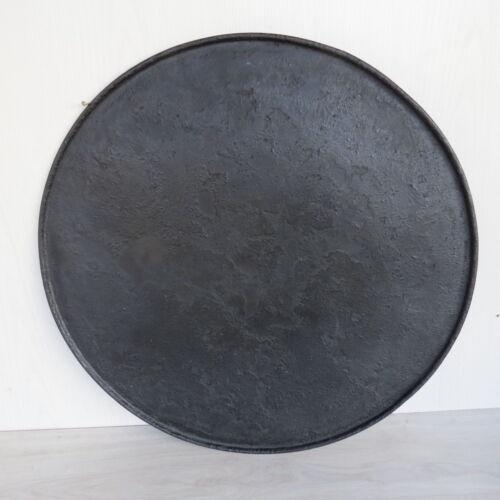 Backofen Blech mit Rand 64cm im Durchmesser aus den 20er 30er Jahen