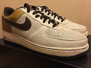 Details about Nike Air Force 1 Premium '07 Michael Cooper Size 12 Leather DS NEW SUPREME KITH