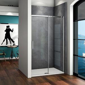 140x195cm Duschabtrennung Schiebetür Duschkabine Duschwand Dusche Echtglas S-2