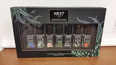 NEST Fragrances EDP Collection Gift Set Indigo Paradise &more 7pc Rollerball NIB