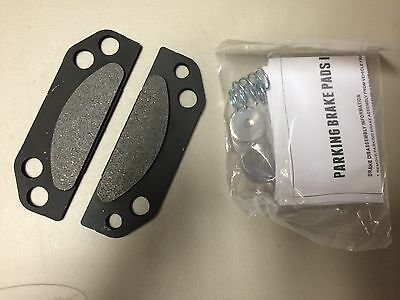 Shims Polaris Ranger UTV Parking Brake Pad /& Springs Kit Replaces OEM 2203148