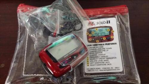 Racing Electronics Solo II Miniature UHF One Way Radio comparable to Raceiver II