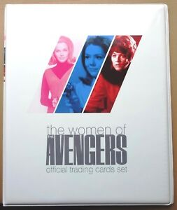 Women-of-The-Avengers-Trading-Cards-Base-Set-Binder-Autograph-Pages-Promos
