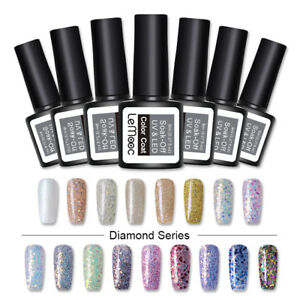 8ml-LEMOOC-Glitter-Smalto-Gel-Semipermanente-Soak-Off-UV-Gel-97-Colors