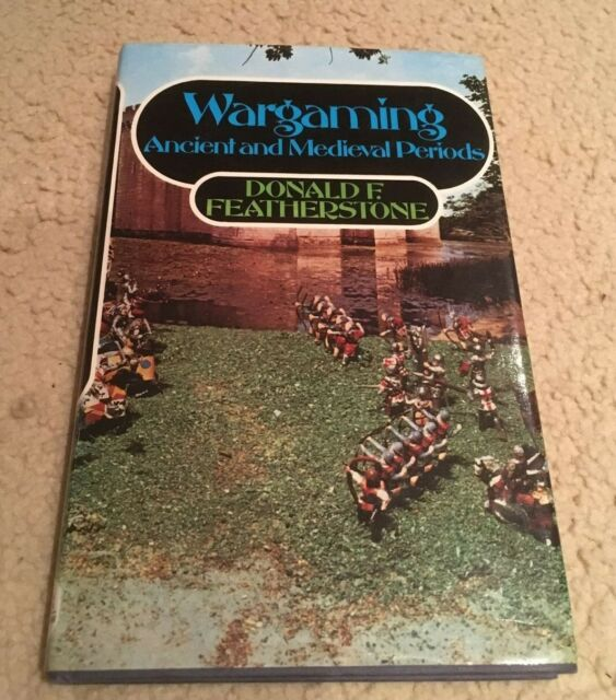 Wargaming Ancient and Medieval Periods by Donald F. Featherstone Hardback Book