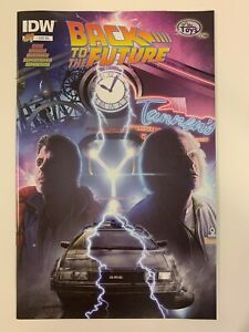IDW BACK TO THE FUTURE #1 : BUYMETOYS EXCLUSIVE COVER : NM CONDITION