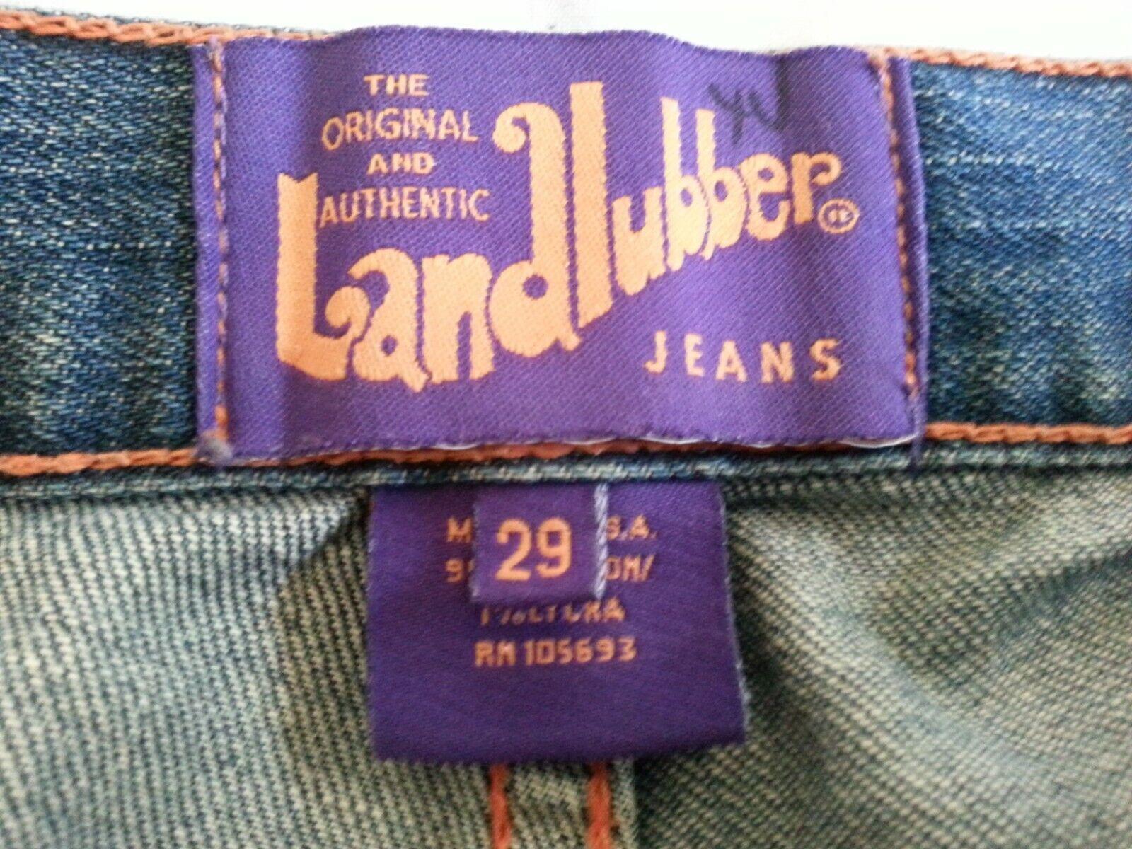 Vintage Women's Landlubber Denim Jeans Pants Size… - image 3